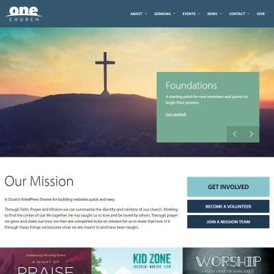 One Church WordPress Theme