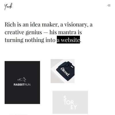 York Lite WordPress Theme
