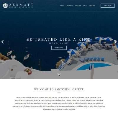 Zermatt WordPress Theme
