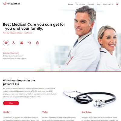 MedZone Pro WordPress Theme