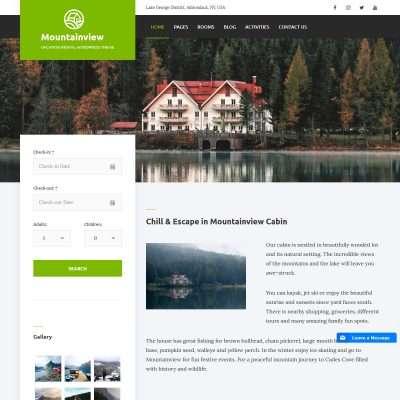 Mountainview WordPress Theme