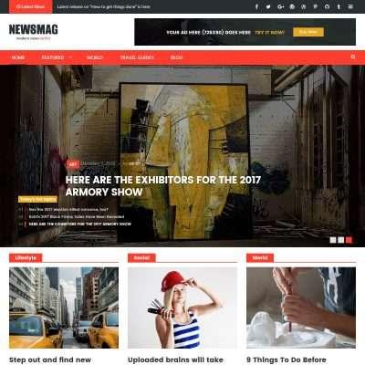 NewsMag Pro WordPress Theme