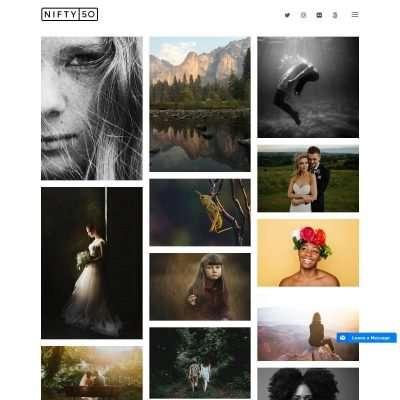 Nifty Fifty WordPress Theme