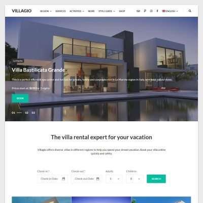 Villagio WordPress Theme