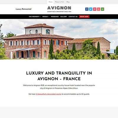 Avignon WordPress Theme