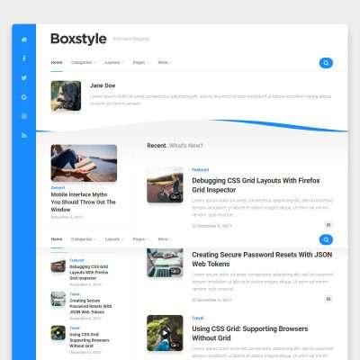 Boxstyle WordPress Theme