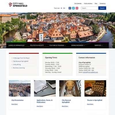 City Hall WordPress Theme