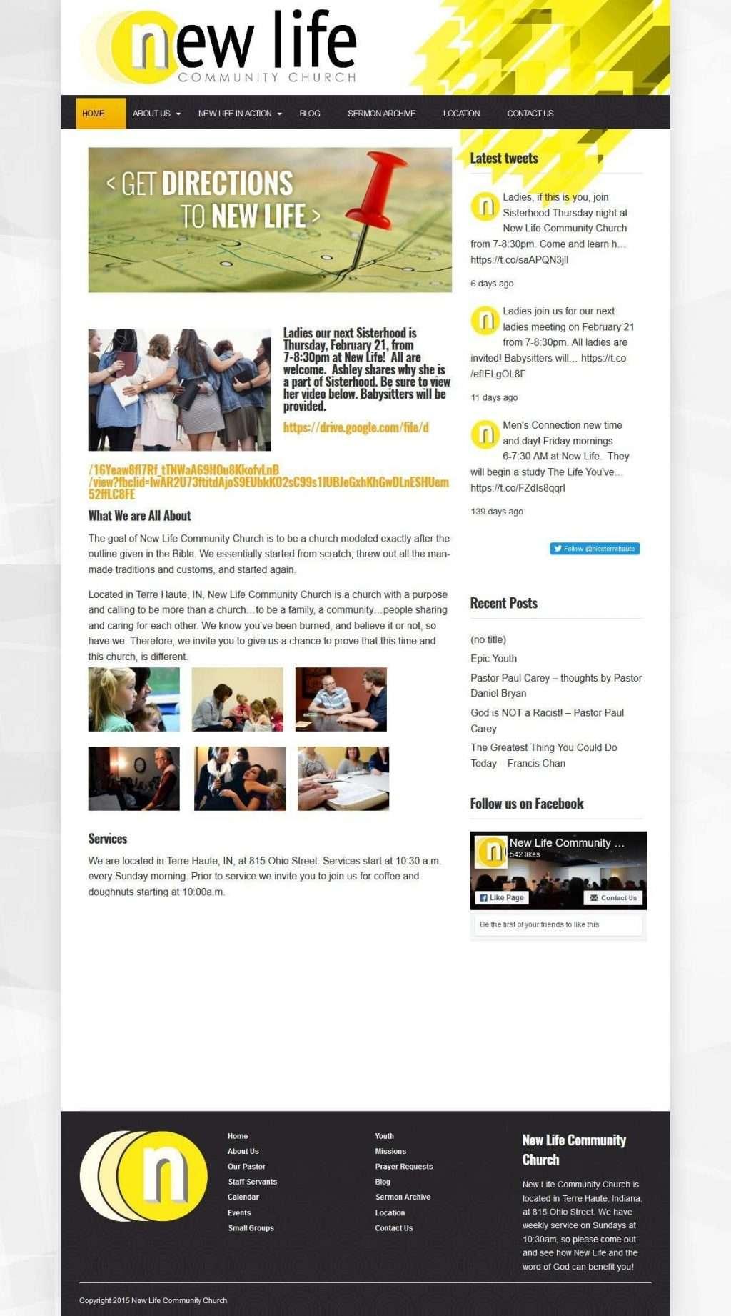 10 Church Websites Created with Prayer WordPress Theme   I