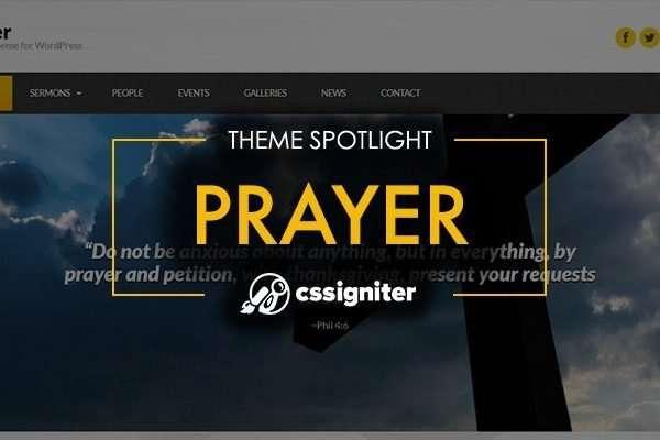 10 Church Websites Created with Prayer WordPress Theme