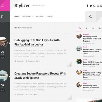 Stylizer WordPress Theme