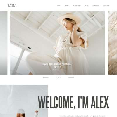 Lyra WordPress Theme