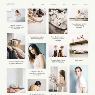 Verso WordPress Theme