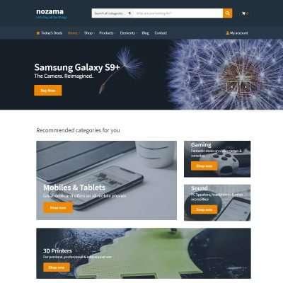 Nozama WordPress Theme