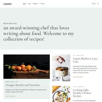 Repasto WordPress Theme