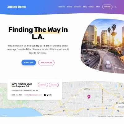 Jubilee WordPress Theme