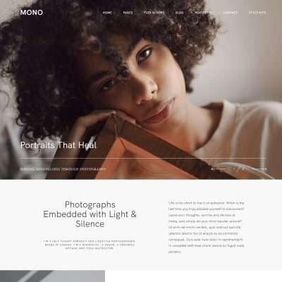 Mono WordPress Theme