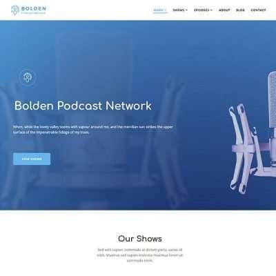 Bolden WordPress Theme
