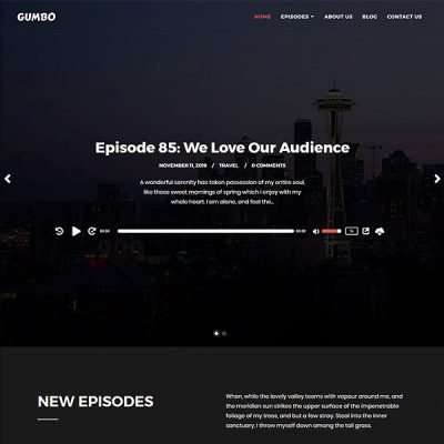 Gumbo WordPress Theme