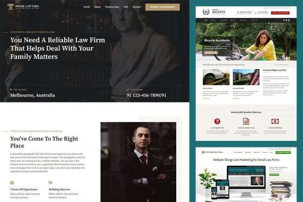 20 Best WordPress Themes for Law Firm and Lawyer Websites in 2021