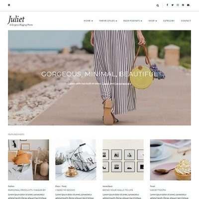 Juliet WordPress Theme