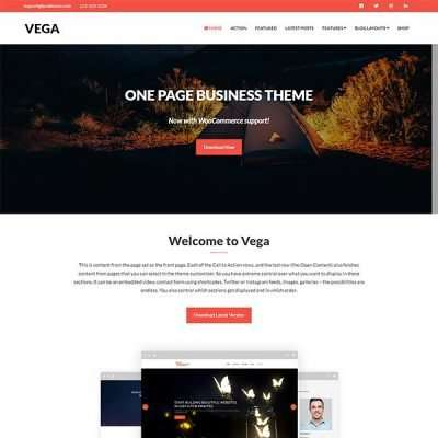 Vega WordPress Theme
