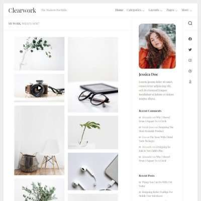 Clearwork WordPress Theme