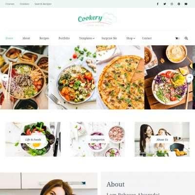 Cookery Lite WordPress Theme