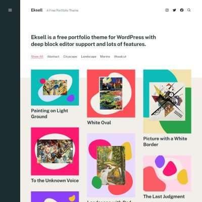 Eksell WordPress Theme