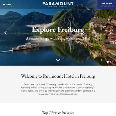 Paramount WordPress Theme