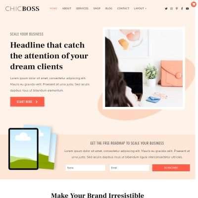 ChicBoss WordPress Theme