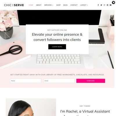 ChicServe WordPress Theme