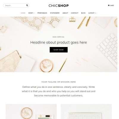 ChicShop WordPress Theme