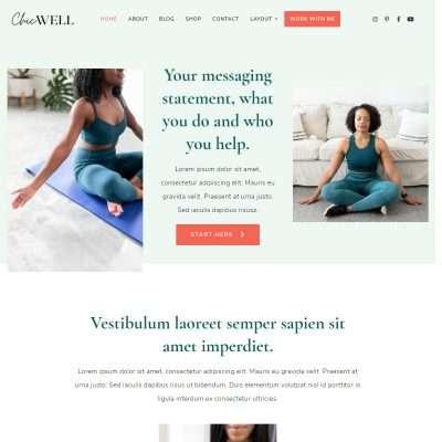 ChicWell WordPress Theme