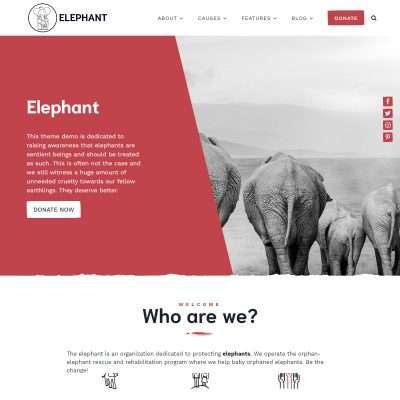 Elephant WordPress Theme