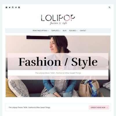 Lolipop WordPress Theme