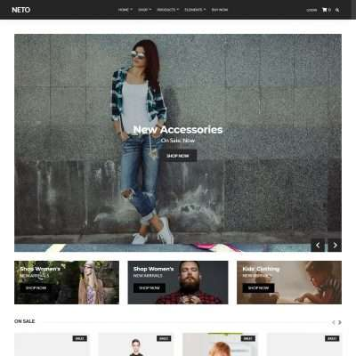Neto WordPress Theme