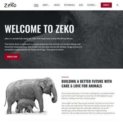 Zeko WordPress Theme