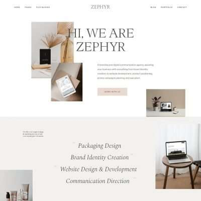 Zephyr WordPress Theme