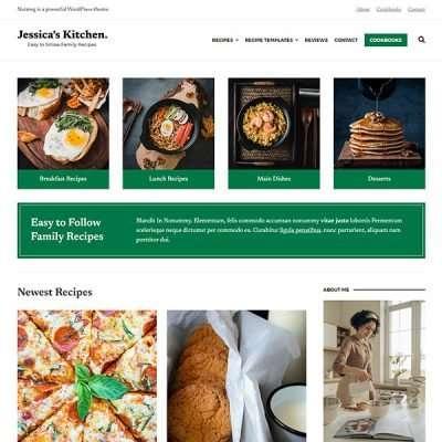 Nutmeg WordPress Theme